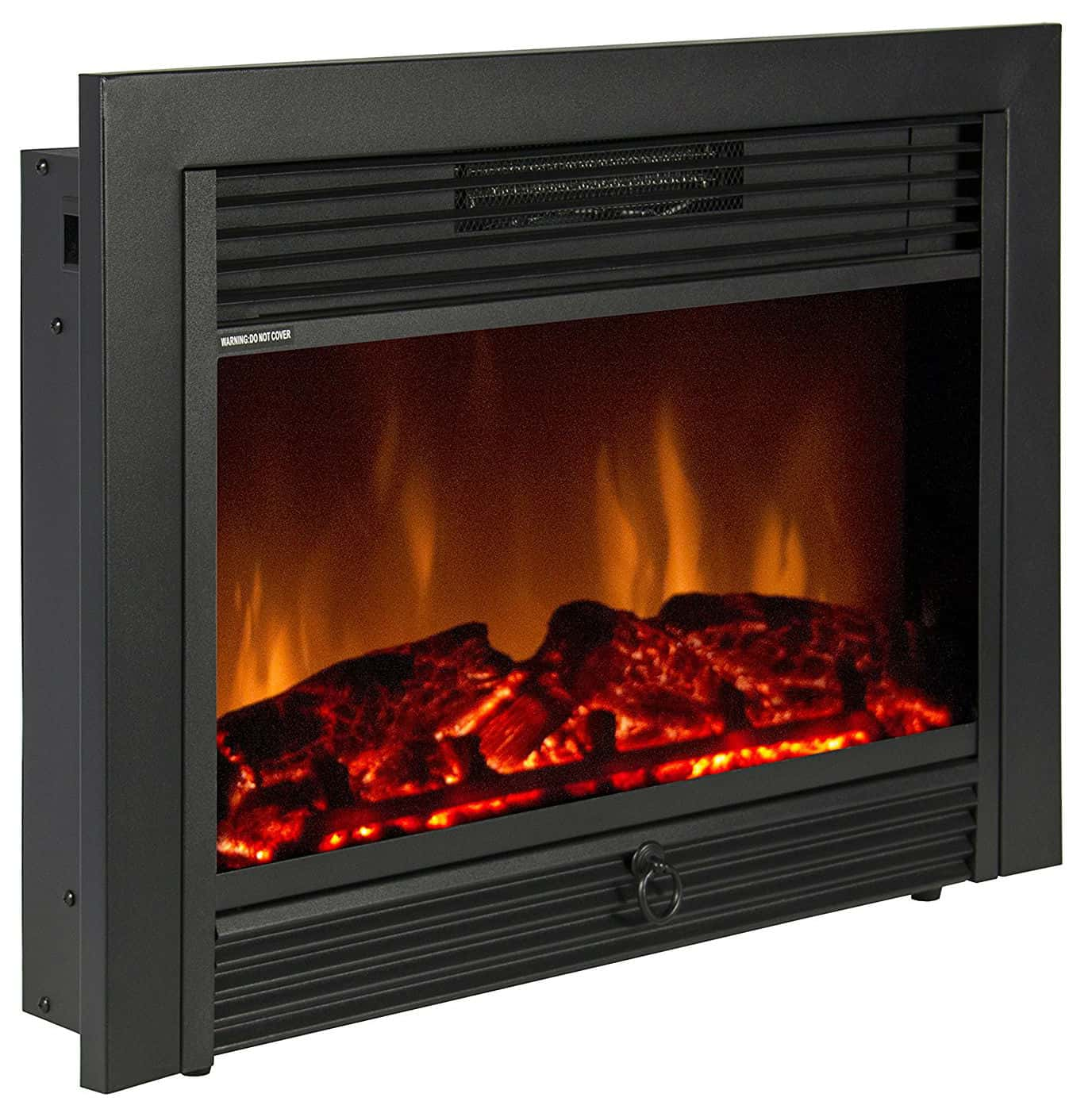 BCP SKY1826 Embedded Fireplace Electric Insert Heater Glass View Log Flame Remote Home