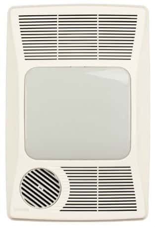 Broan 100HL Directionally-Adjustable Bath Fan with Heater
