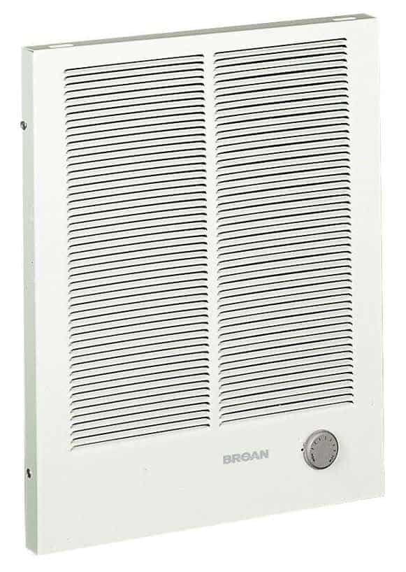 Broan 198 High Capacity Wall Heater, 2000/4000 Watt 240 VAC
