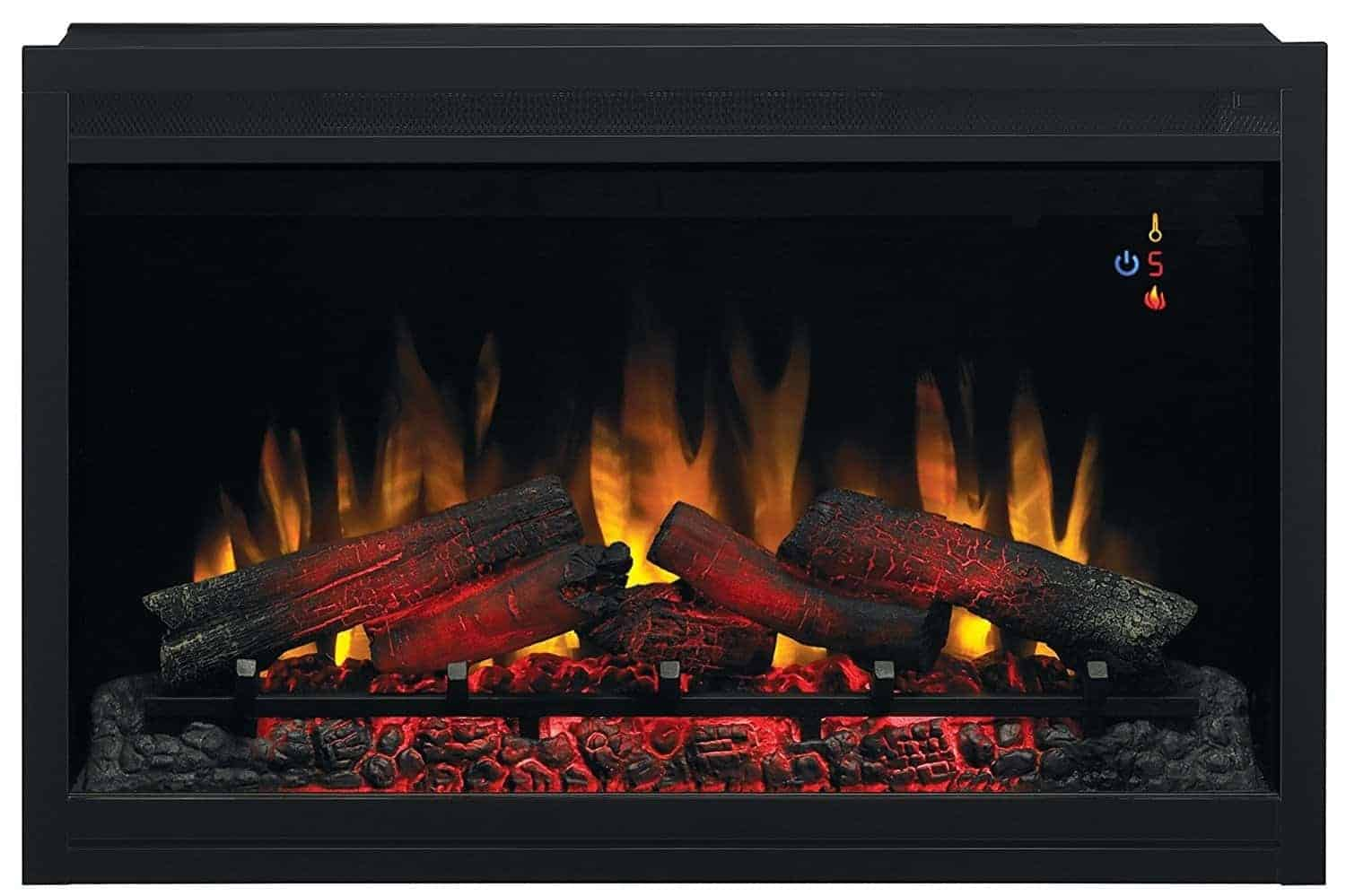 "ClassicFlame 36EB110-GRT 36"" Traditional Built-in Electric Fireplace Insert"