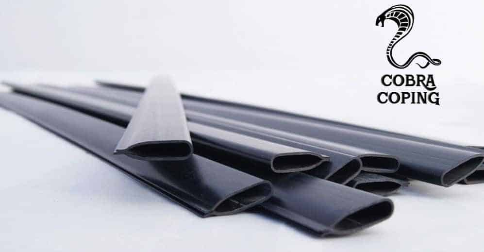 Coping Strips for Above Ground Pool Liners, Plastic clips for Overlap Pool Liner Replacement