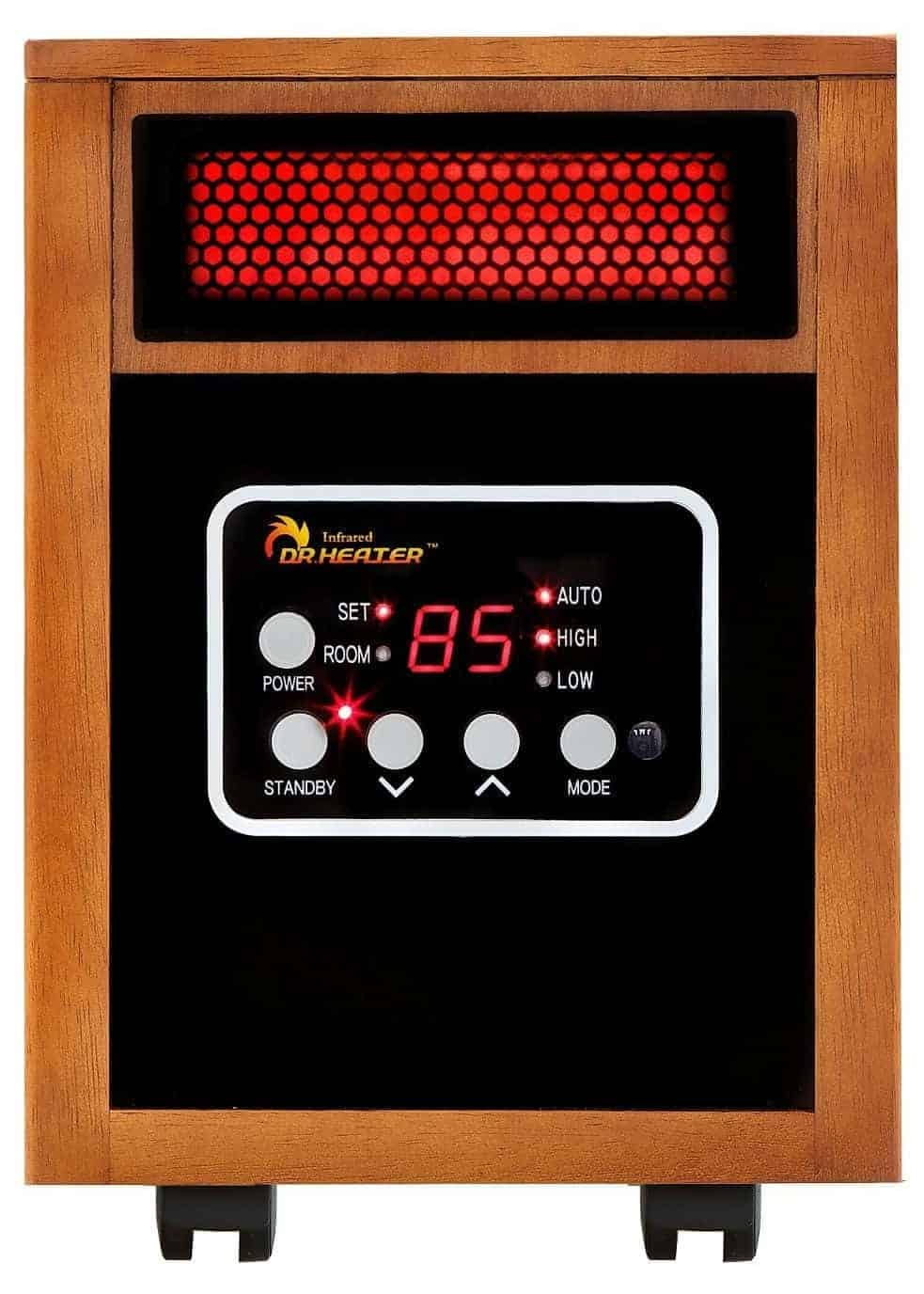 Dr Infrared Heater Portable Infrared Heater, 1500-Watt