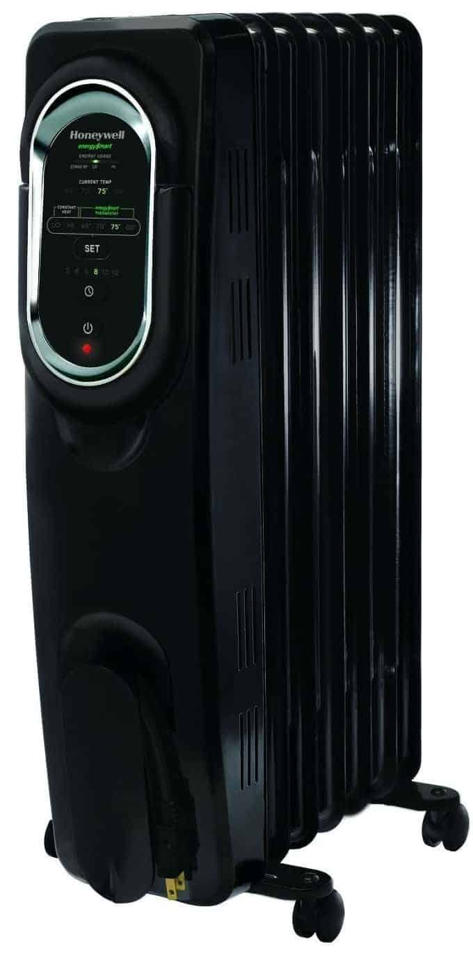 Honeywell HZ-789 EnergySmart Electric Oil Filled Radiator Whole Room Heater