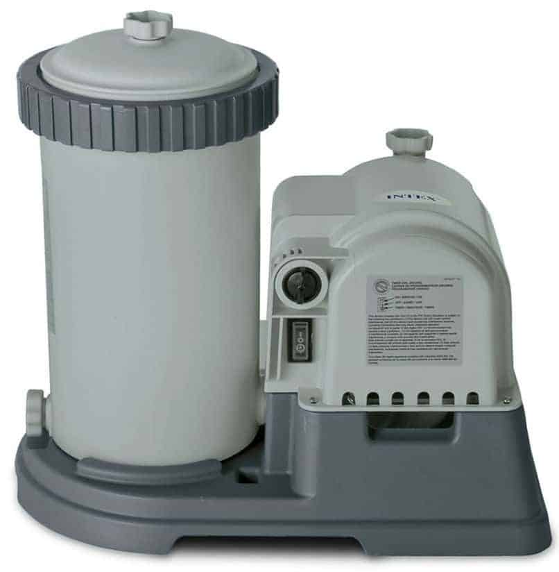 Intex 28633EG Krystal Clear Cartridge Filter Pump for Above Ground Pools, 2500 GPH Pump Flow