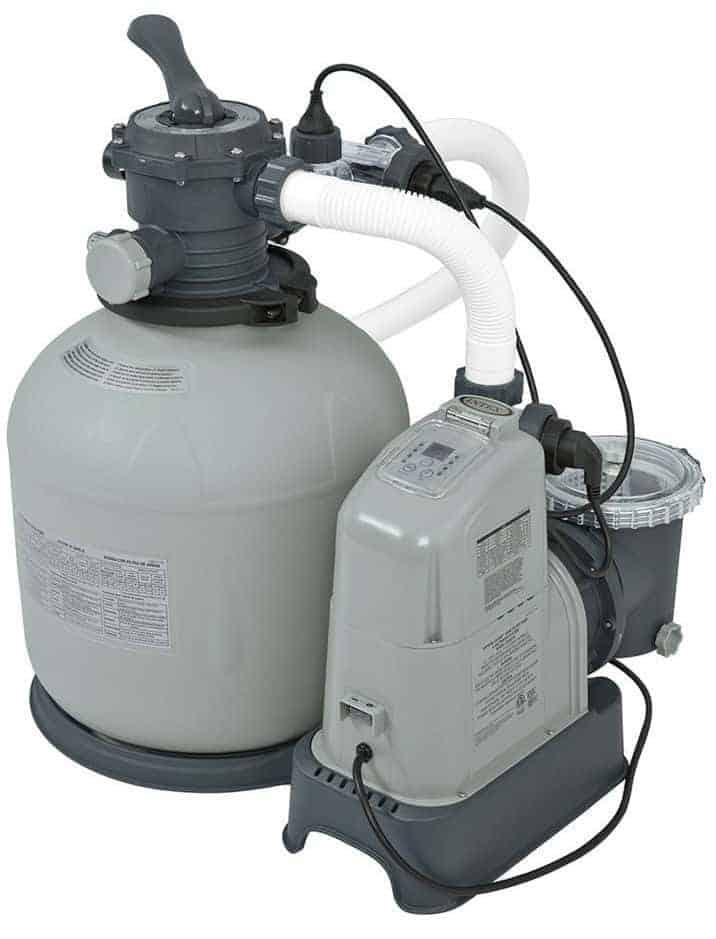 Intex Krystal Clear 2150 GPH Sand Filter Pump & Saltwater System