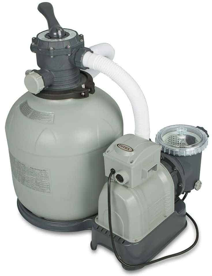 Intex Krystal Clear Sand Filter Pump for Above Ground Pool filter