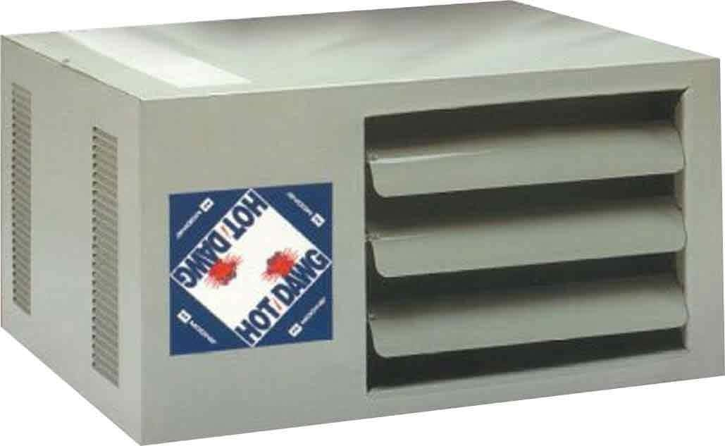 Modine HD45AS0111 Natural Gas Hot Dawg Garage Heater 45,000 BTU