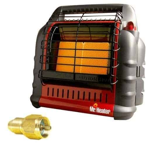 "Mr. Heater MH18B California Approved ""BIG Buddy"" Indoor Safe Propane Heater"