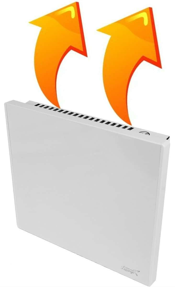 New Age Living Phantom 4 Wall Panel Heater - 400W - Radiant & Convection Heating