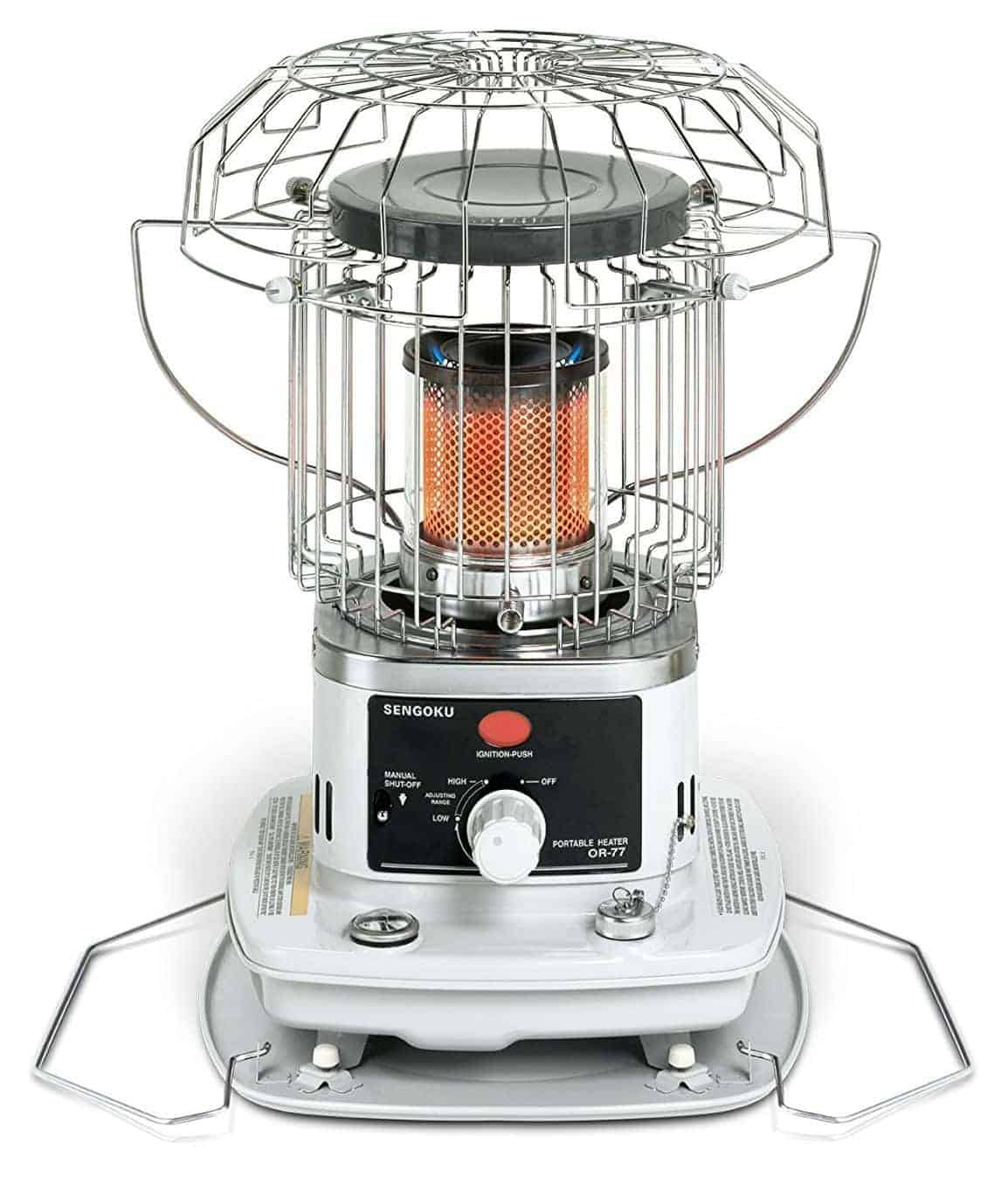 Sengoku HeatMate 10,000-BTU Indoor/Outdoor Omni-Radiant Portable Kerosene Heater