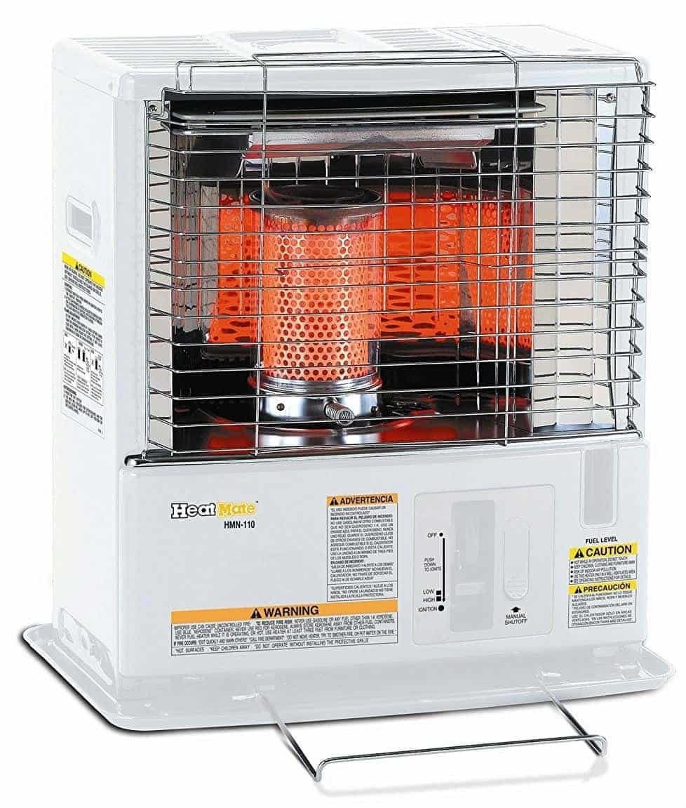 Sengoku HeatMate 10,000-BTU Portable Indoor/Outdoor Radiant Kerosene Heater