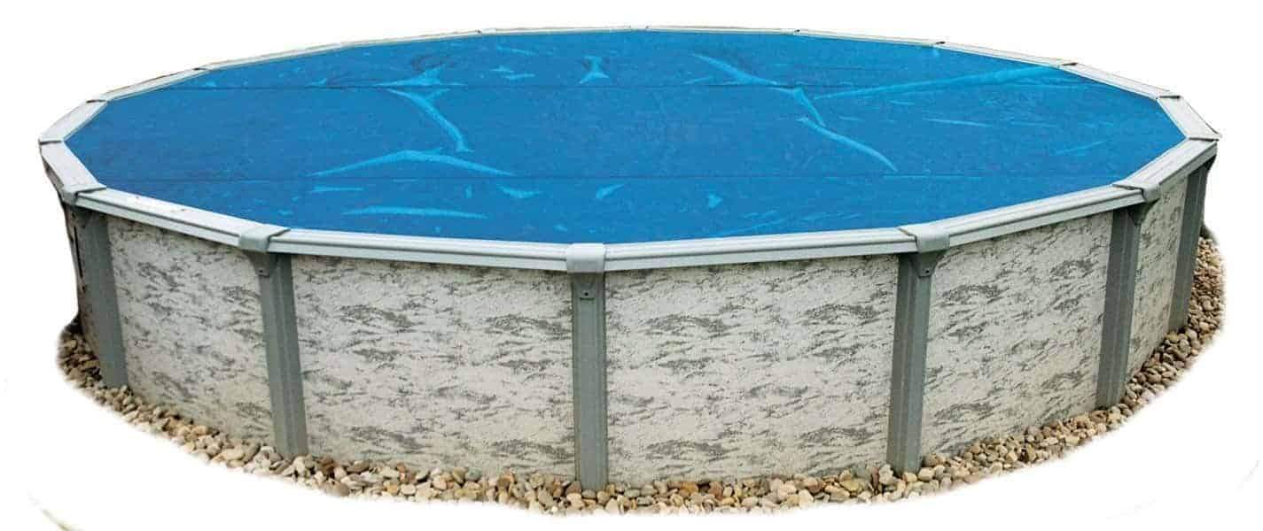 Blue Wave 12 - 36 Feet Round 8-mil Solar Blanket for Above Ground Pools
