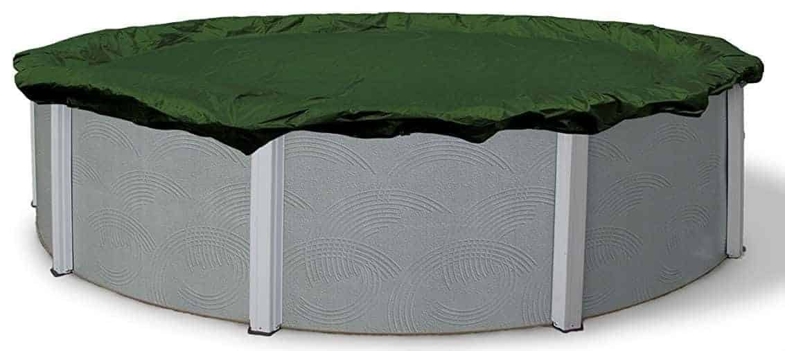 Blue Wave Silver 12-Year 18-ft Round Above Ground Pool Winter Cover