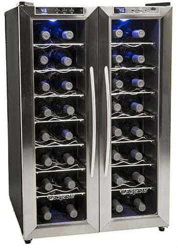 EdgeStar TWR325ESS 32 Bottle Dual Zone Wine Cooler