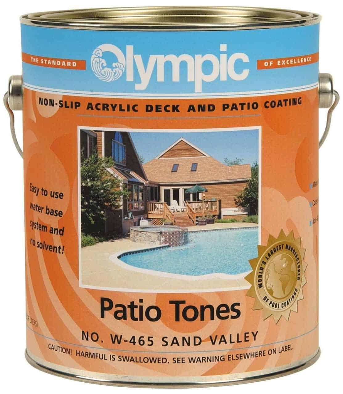 Olympic Patio Tones Deck Coating - Desert Sun