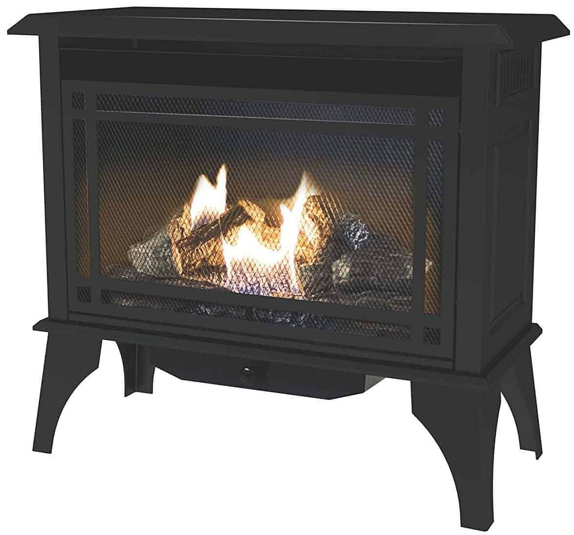 Pleasant Hearth VFS2-PH30DT 30000 BTU Vent-Free Gas Stove