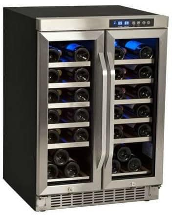 EdgeStar CWR361FD 24 Inch Wide 36 Bottle Built-In Wine Cooler