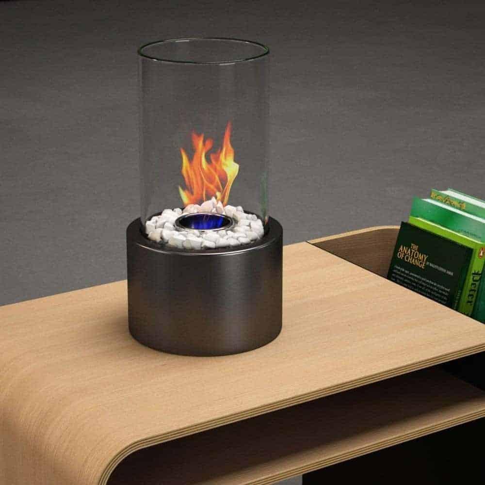 Regal Flame Eden Ventless Indoor Outdoor Tabletop Portable Bio Ethanol Fireplace