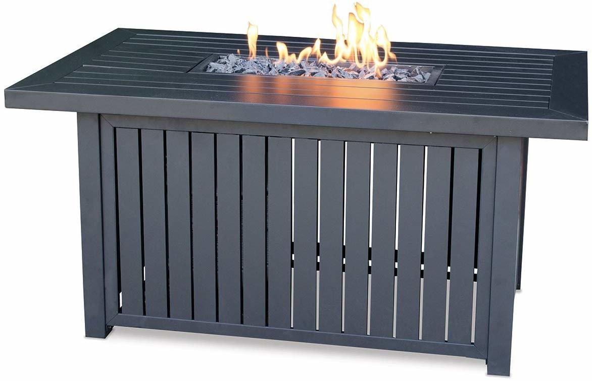 Endless Summer Rectangular LP Gas Outdoor Fire Pit