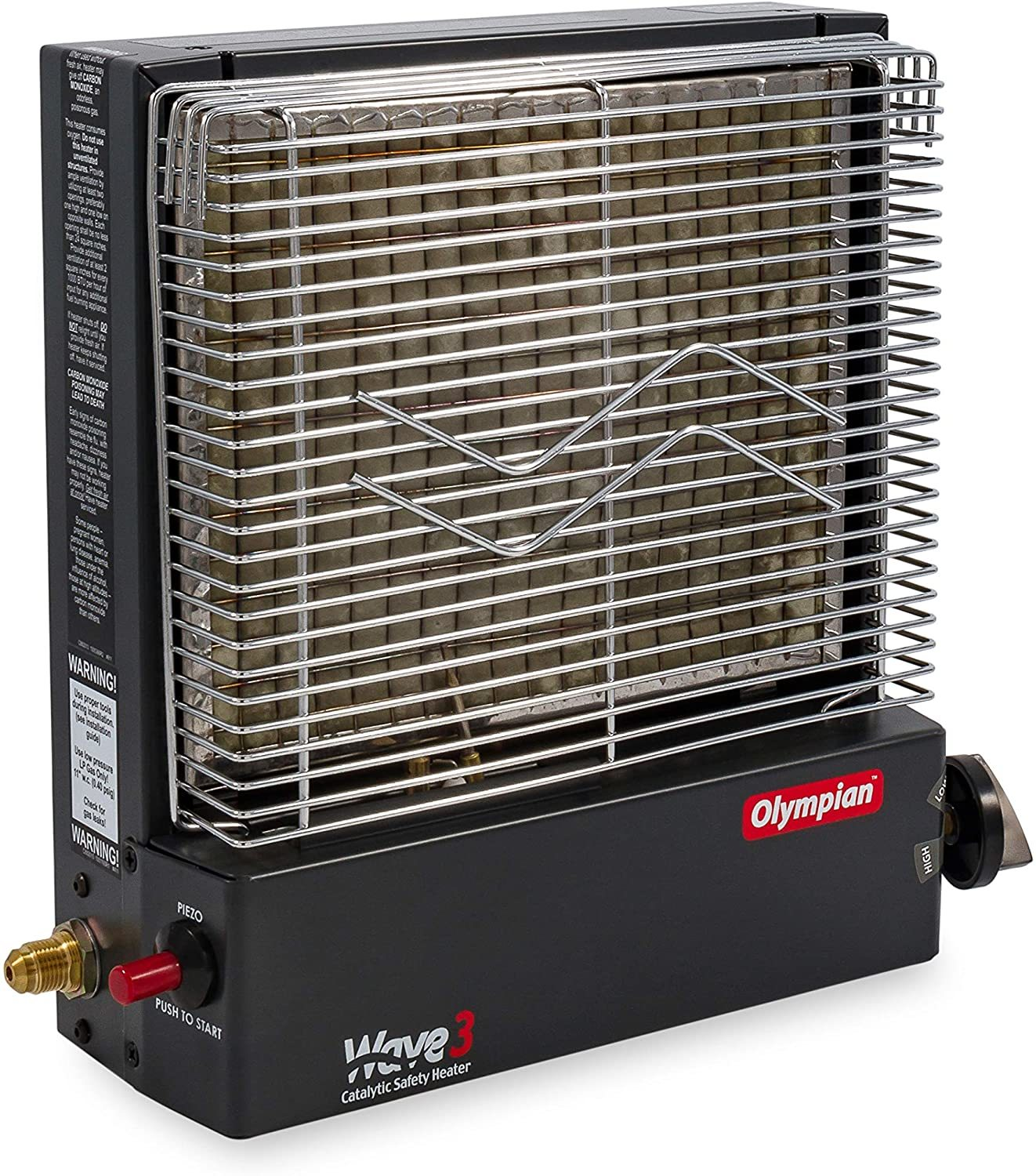 Camco 57331 Olympian Wave Vented Propane Heater