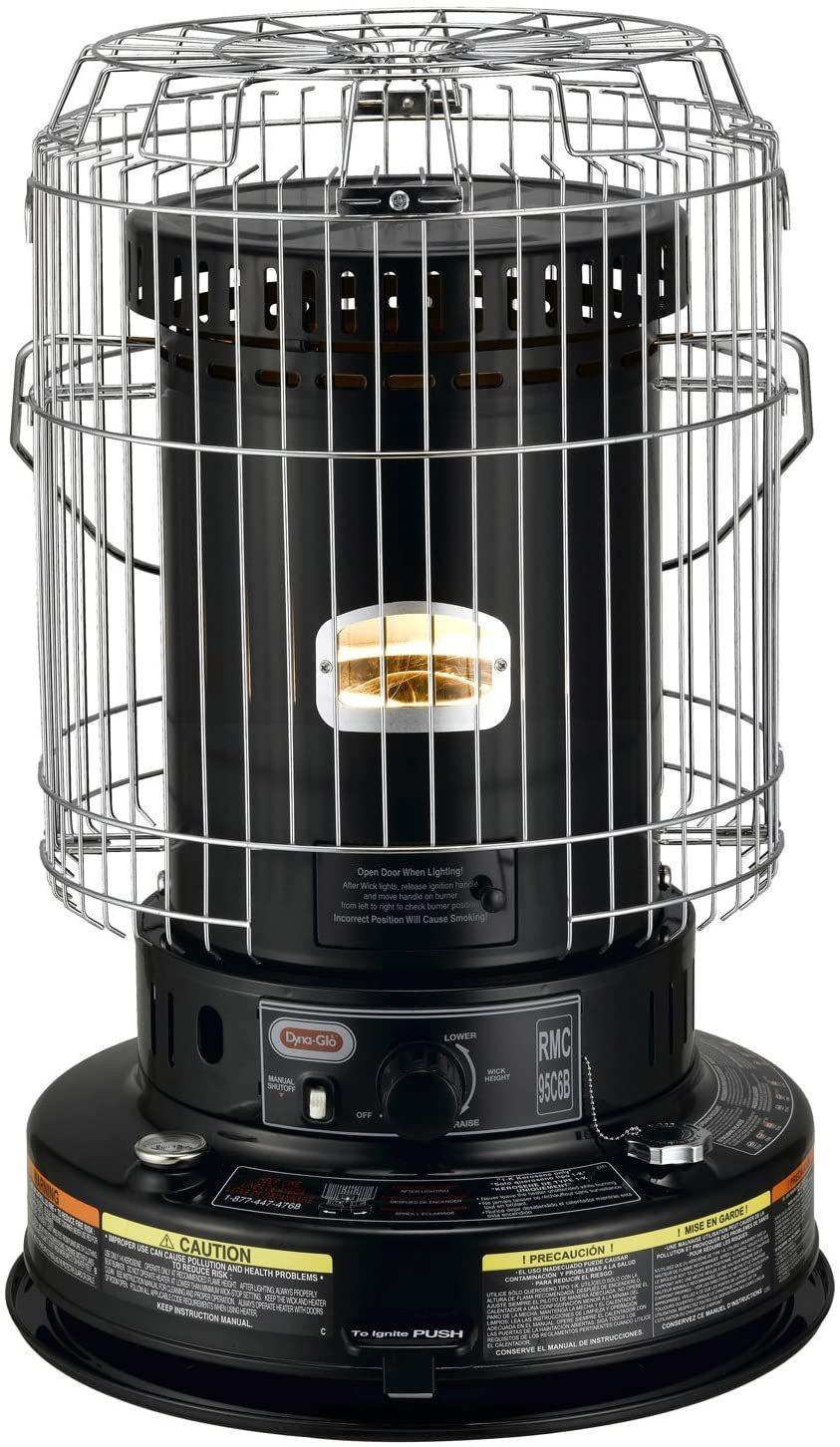 Dyna-Glo RMC-95C6B Indoor Kerosene Heater For Basement