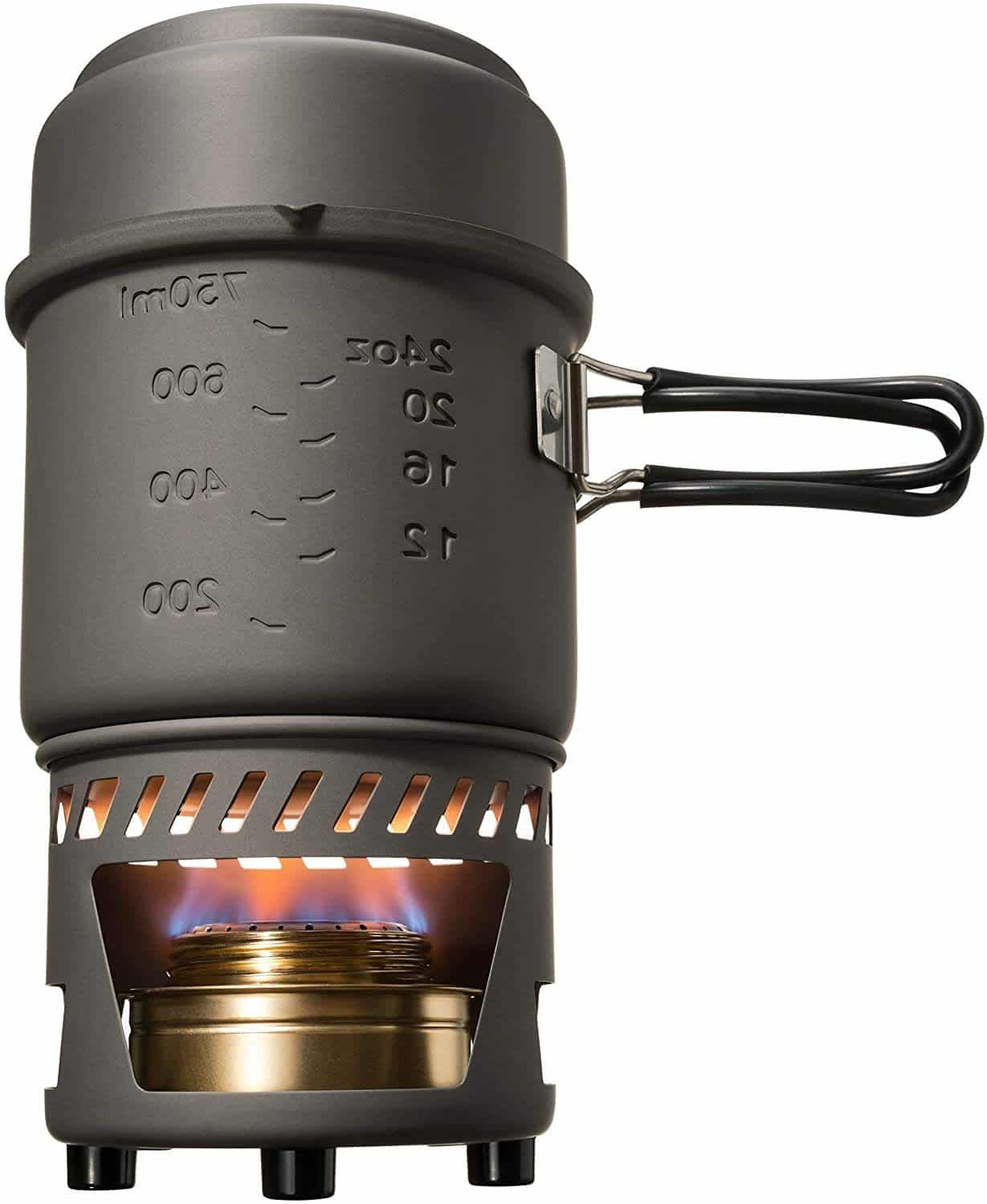 Esbit CS985HA Brass Alcohol Burner Stove