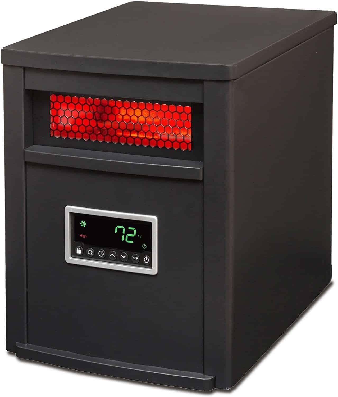 LifeSmart 6 Element Infrared Heater For Basement