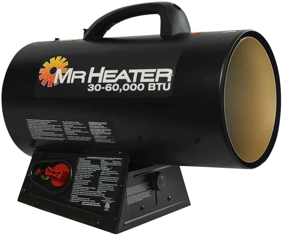 Mr. Heater MH60QFAV Portable Propane Forced Air Heater