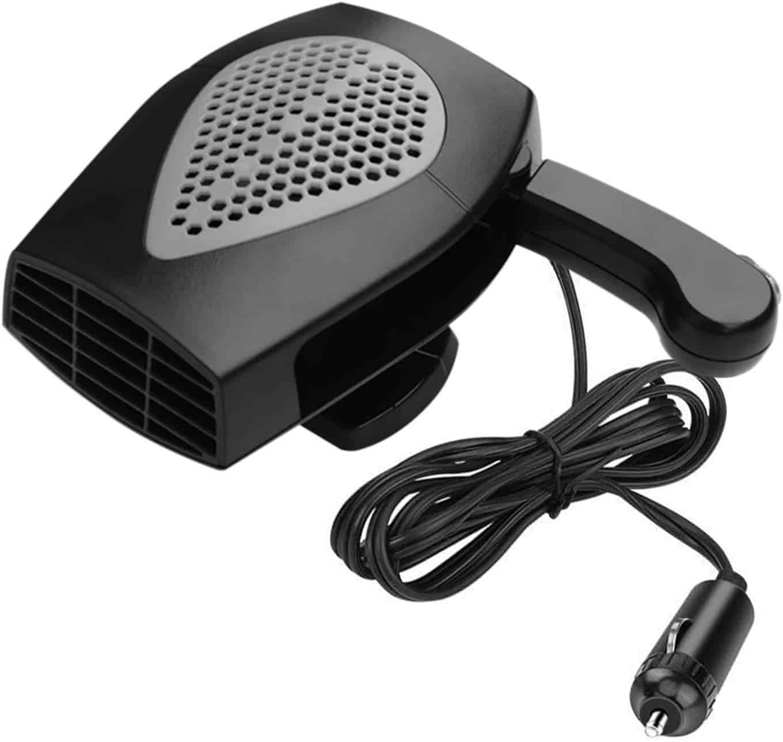ROYADVE 12V Portable Fan Car Heater