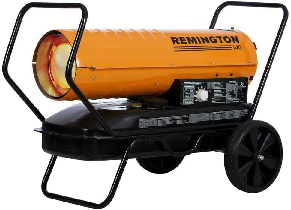 Remington REM-140T-KFA-O Torpedo Heater with Thermostat