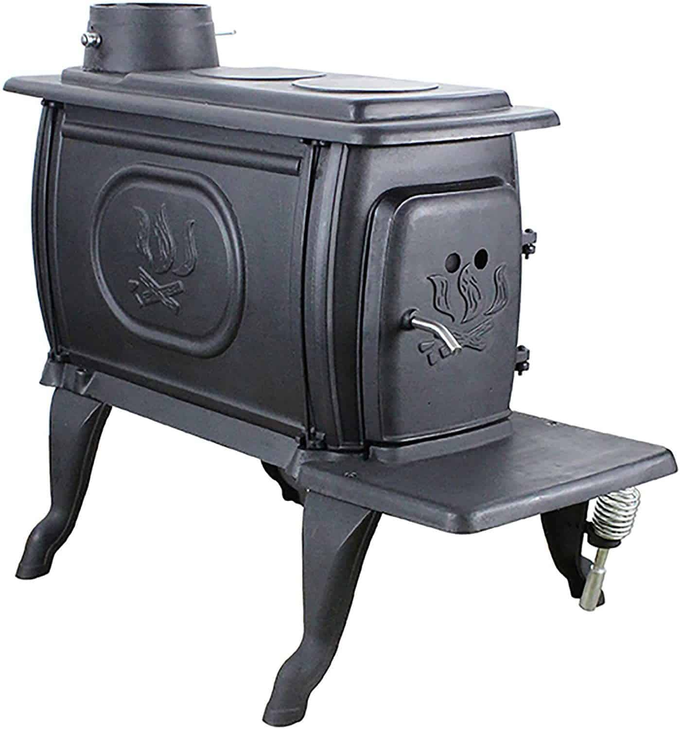 US Stove 1269E Small EPA Certified Cast Iron Logwood Stove