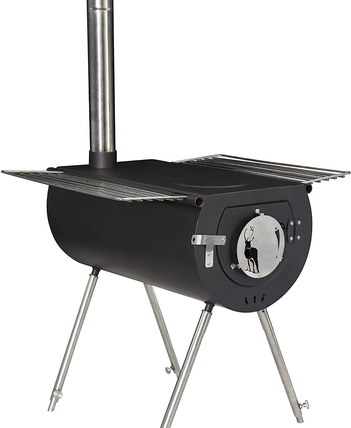 US Stove Caribou Portable Wood Stove