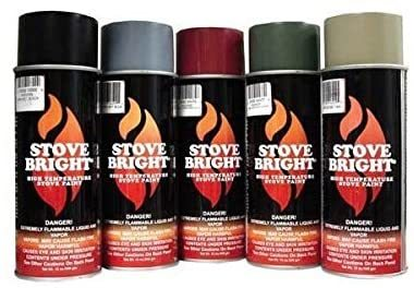 Hi-Temperature Stove and Fireplace Paint from Forrest Paint