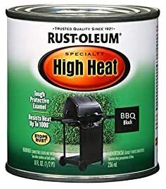 Rust-Oleum Satin BBQ Black