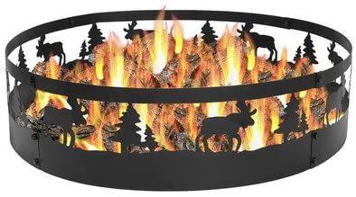Sunnydaze Wild Moose Fire Pit