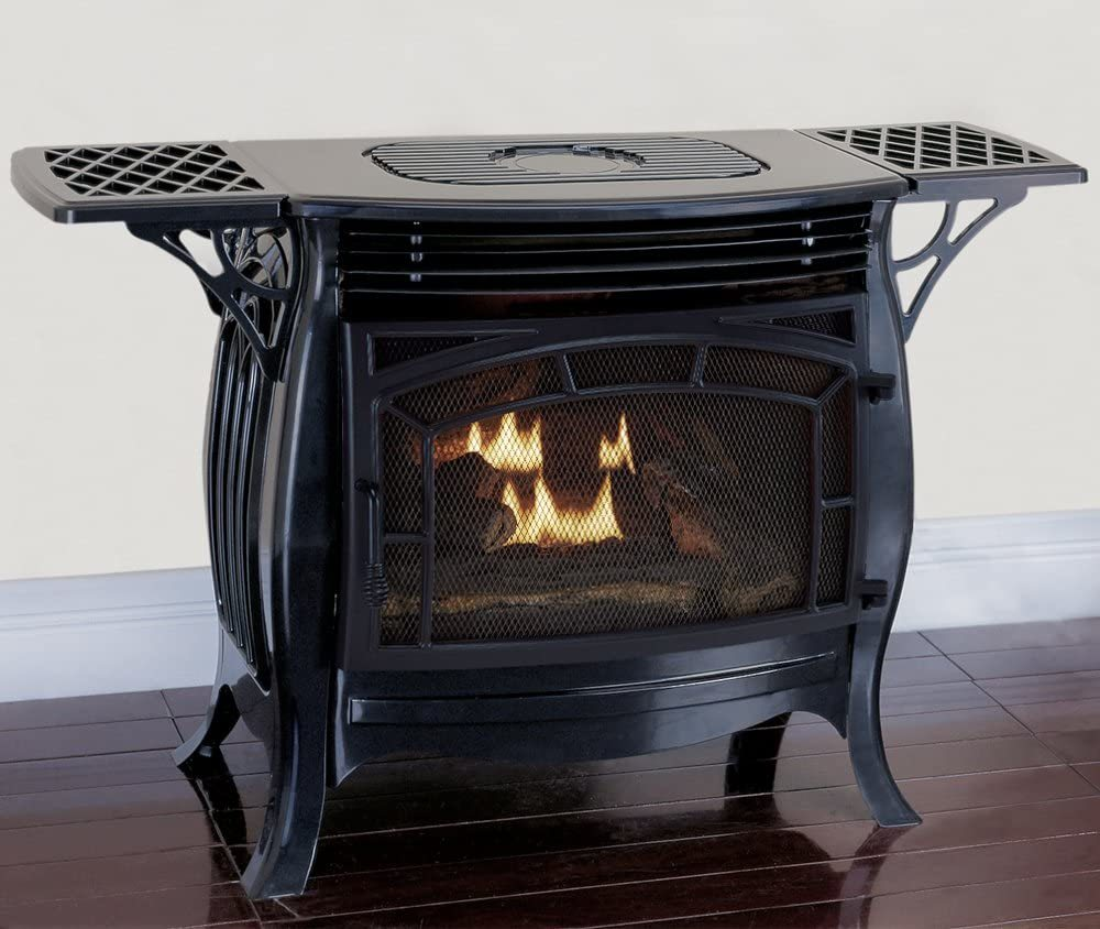 Duluth Forge FDSR25-GF Dual Fuel Ventless Gas Stove