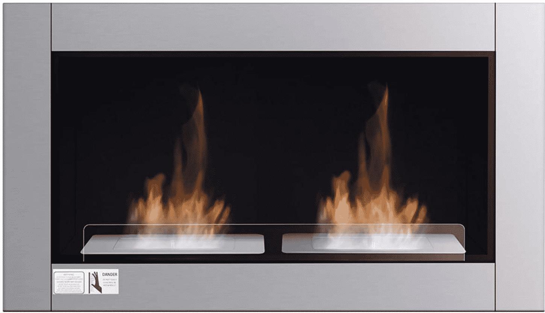 "38"" Wall Mounted Bioethanol Fireplace by Tangkula"