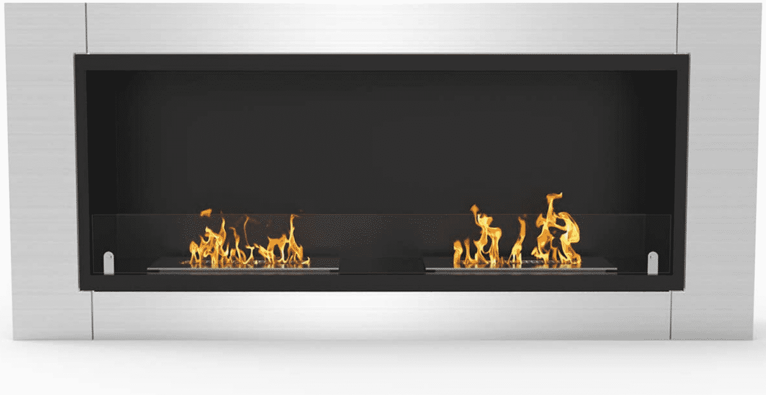 43 Inch Ethanol Wall Mounted Fireplace by Regal Flame