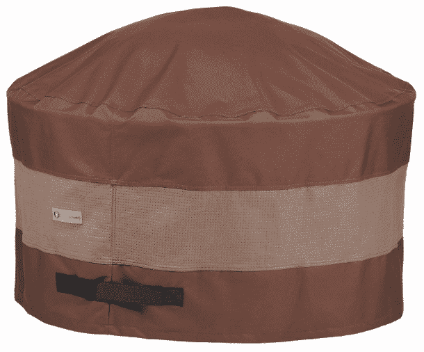 """Duck Covers ultimate 32"""" Round Waterproof Fire Pit Cover"""