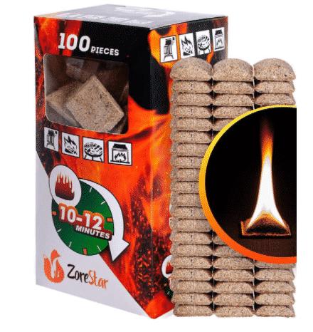 Fire Starter Cubes by Zorestar