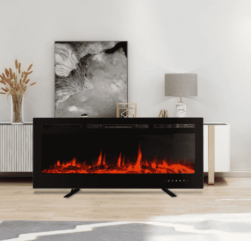 HODOCA 50 Inches Electrical Fireplace