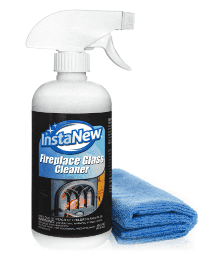 InstaNew Fireplace Glass Cleaner