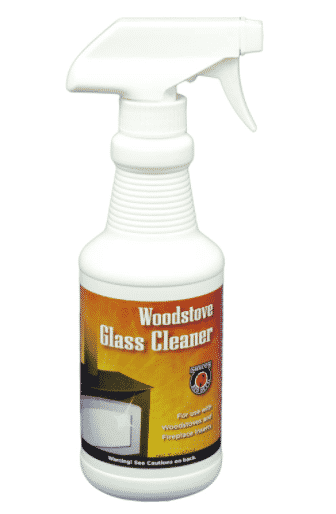 Meeco's Red Devil Woodstove Glass Cleaner