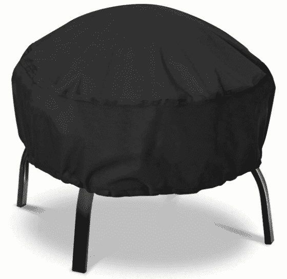 Nasum round fire pit cover