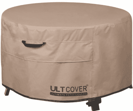 """ULTCOVER patio fire pit 32"""" round Cover"""