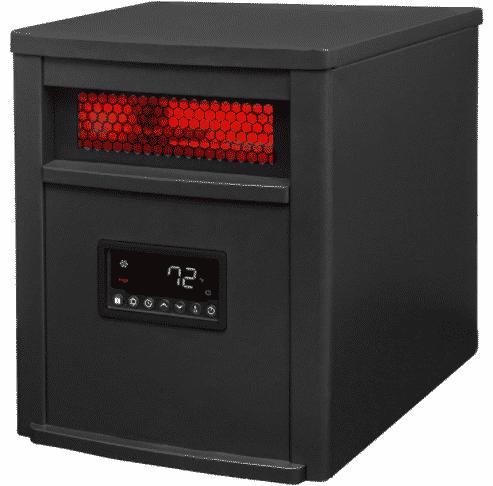LifeSmart ZCHT1071US Quartz Ifrared Electric Heater